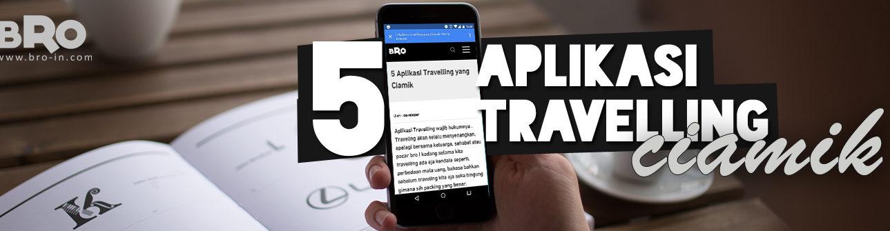 Aplikasi Travelling Bro