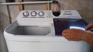 cara mengoperasikan mesin cuci otomatis