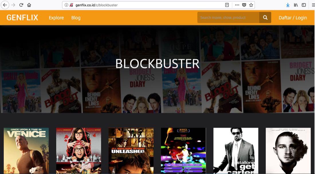 website nonton film online